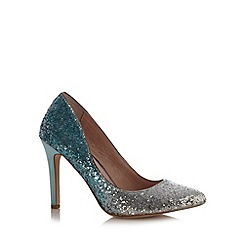 Faith - Pale green pointed toe high stiletto court shoes