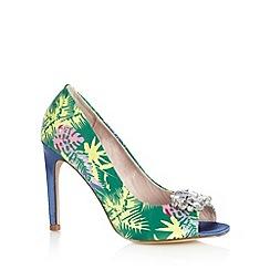 Faith - Green tropical high court shoes