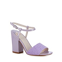Faith - Lilac beaded high sandals