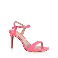 Faith - Bright pink strap high sandals