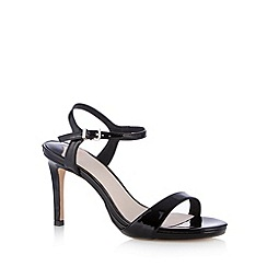 Faith - Black strap high sandals
