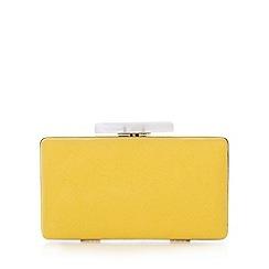 Faith - Yellow clutch bag