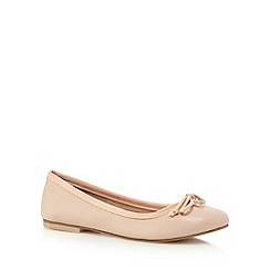 Faith - Natural bow detail pumps