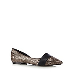 Faith - Metallic slip-on shoes