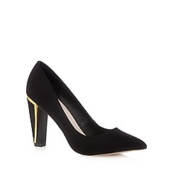 Faith - Black asymmetric pointed shoes