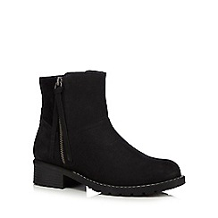 Faith - Black suede boots