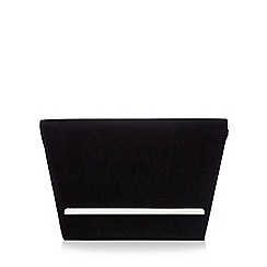 Faith - Black velvet clutch