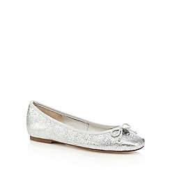 Faith - Metallic 'Austin' leather slip on shoes