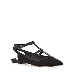 Faith - Black 'Amy' pointed toe shoes