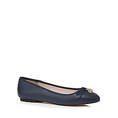 Faith - Navy 'Amber' slip-on shoes