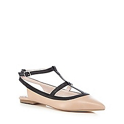 Faith - Light pink 'Amy' pointed toe shoes