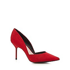 Faith - Red 'Cleopatra' court shoes