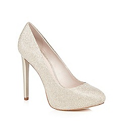 Faith - Metallic 'Cadles' high platform court shoes