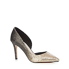 Faith - Metallic ombre slip on heels