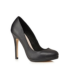 Faith - Black 'Cody' high stiletto heel court shoes