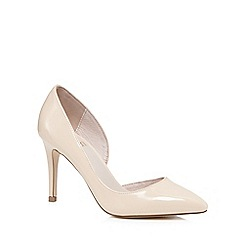 Faith - Light pink 'Cliff' court shoes