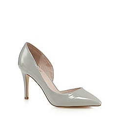 Faith - Pale grey 'Cliff' court shoes