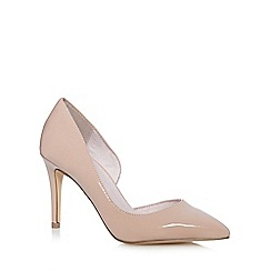 Faith - Light pink 'Cliff' pointed court shoes