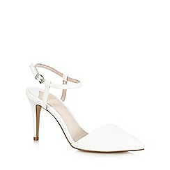 Faith - White 'Chingy' high court shoes