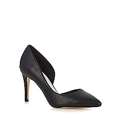 Faith - Black wide fit high court shoes