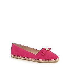 Faith - Bright pink 'Alice' slip-on shoes