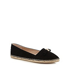 Faith - Black 'Alice' slip-on shoes