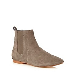 Faith - Taupe 'Smiths' Chelsea boots