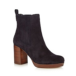 Faith - Navy 'Sasha' ankle boots