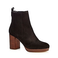 Faith - Black 'Sasha' ankle boots