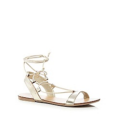 Faith - Gold 'Jeremiah' sandals