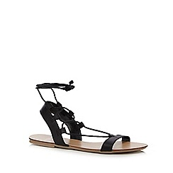 Faith - Black 'Jeremiah' sandals