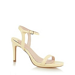 Faith - Yellow 'Dolly' high sandals