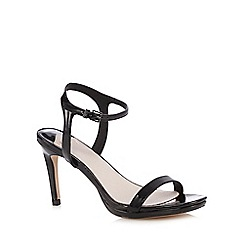 Faith - Black patent 'Dolly' sandals