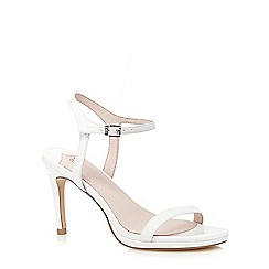Faith - White patent 'Dolly' sandals