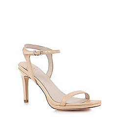 Faith - Cream patent 'Dolly' sandals