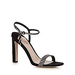 Faith - Black 'Delta' high sandals