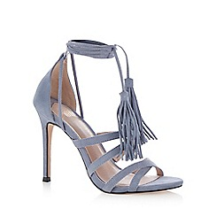 Faith - Light blue 'Daft' high sandals
