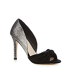 Faith - Silver sequin lace high court shoes