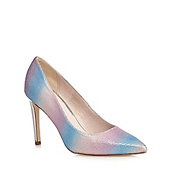 Faith - Pink striped high court shoes