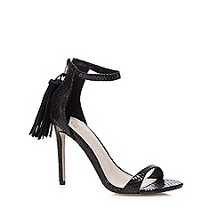 Faith - Black 'Lee' high sandals