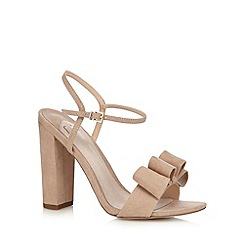 Faith - Taupe suedette high sandals