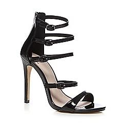 Faith - Black 'Leanne' high sandals