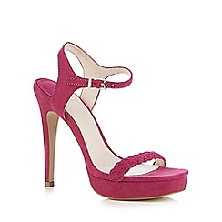 Faith - Bright pink 'Lala' high sandals