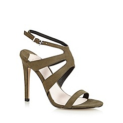 Faith - Khaki 'Lucy' high sandals