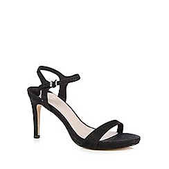 Faith - Black 'Libertine' patent high sandals