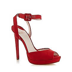 Faith - Red 'Ladies' high sandal