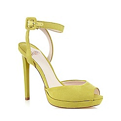 Faith - Lime 'Ladles' high sandal