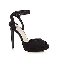 Faith - Black 'Ladles' high sandal