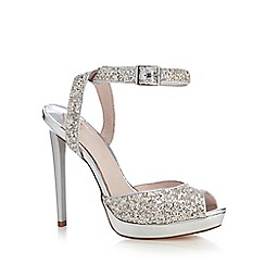 Faith - Metallic 'Ladles' high sandals