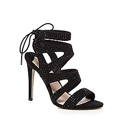 Faith - Black 'Lily' high sandals